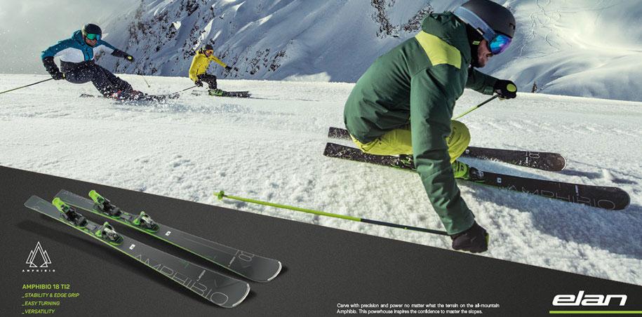 Elan Amphibio 18 Ti2 esqui Elan Ambpibio 16 Ti esqui